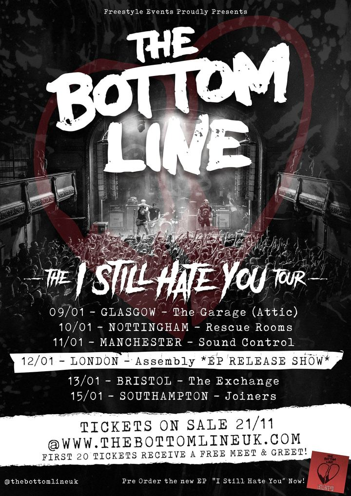 The Bottom Line – Gig Review – Manchester