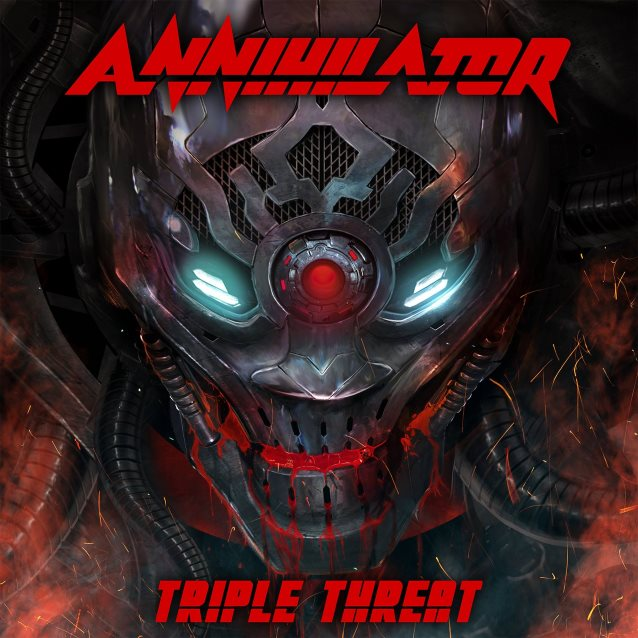 ANNIHILATOR – TRIPLE THREAT – CD REVIEW