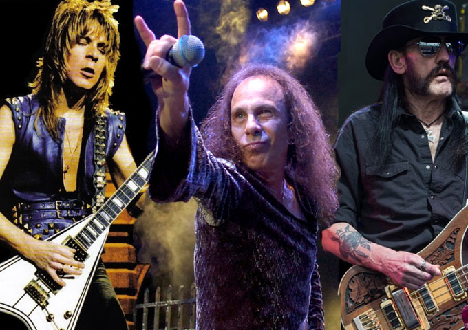 HALL OF HEAVY METAL HISTORY AWARDS HONOR DIO, LEMMY, RANDY RHOADS, SCORPIONS…