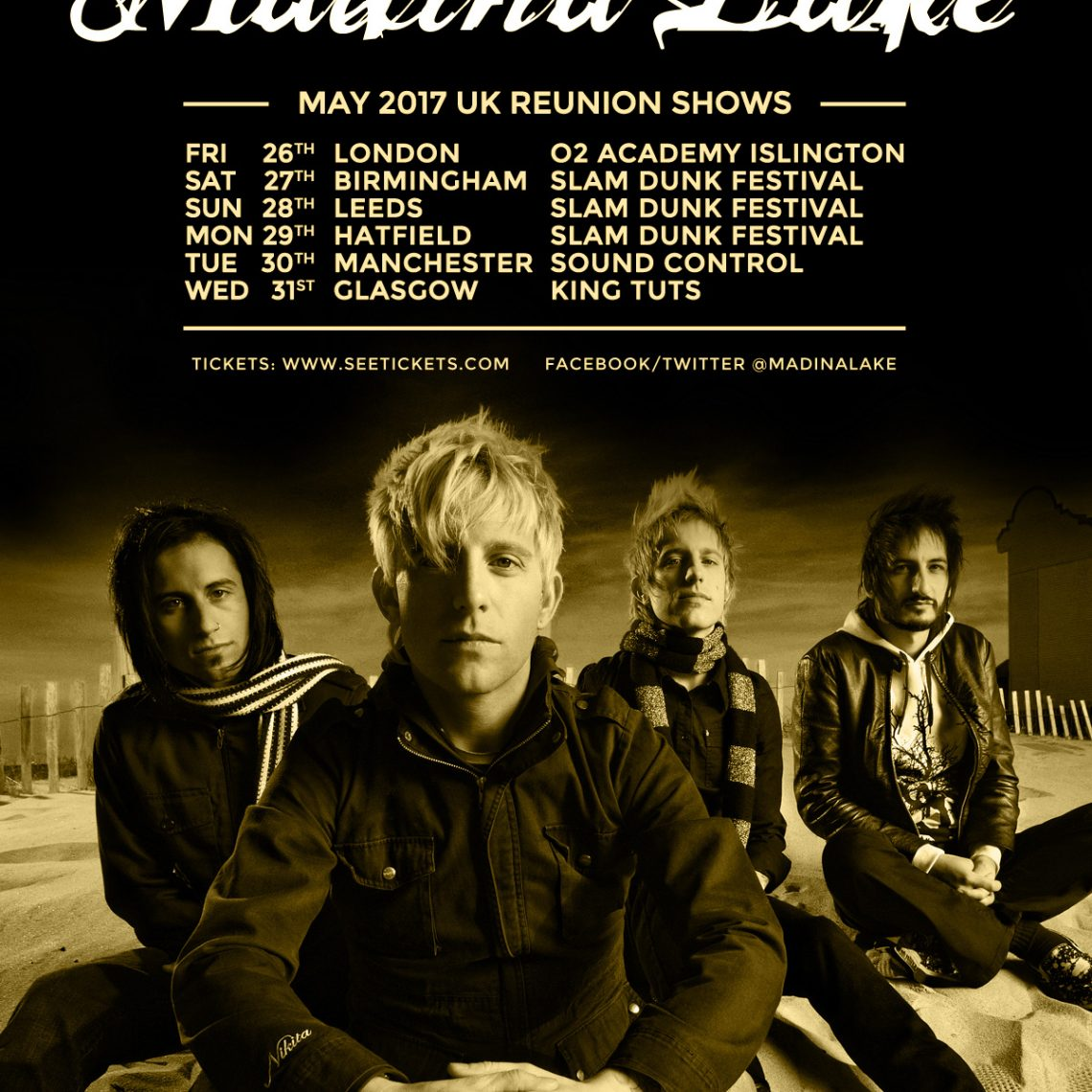 MADINA LAKE reform & announce UK shows inc Slam Dunk