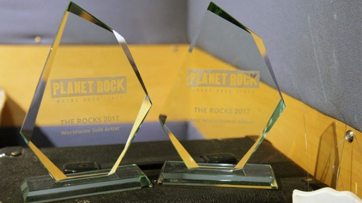 MASCOT LABEL GROUP Pick up 5 nominations in the Planet Rock 'The Rocks' Awards