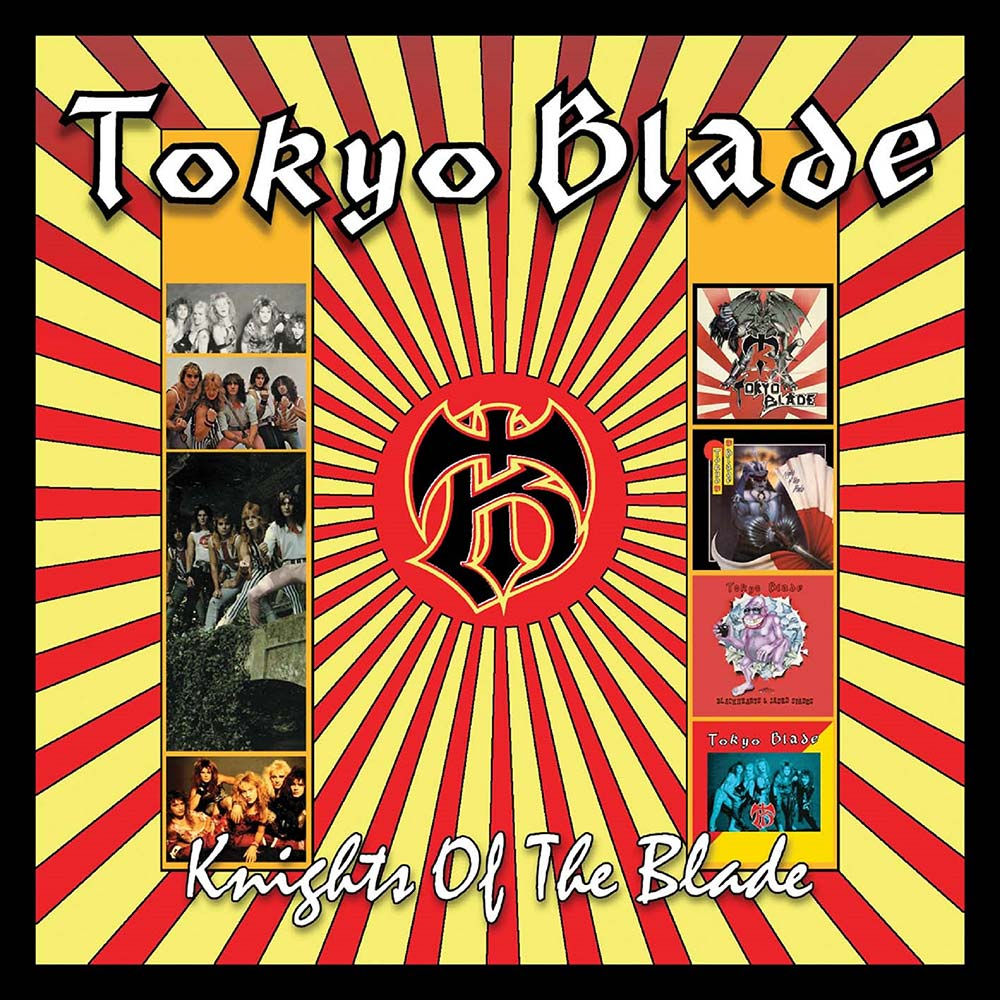 Tokyo Blade – Knights Of The Blade: 4 Disc Box Set