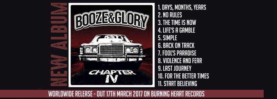 Interview with Mark from Booze & Glory