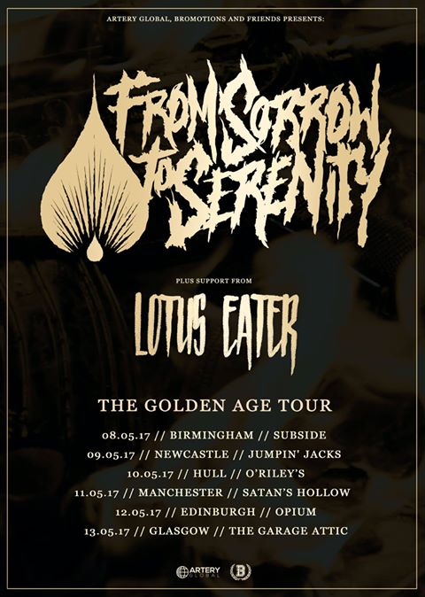 LOTUS EATER & FROM SORROW TO SERENITY – SATANS HOLLOW MANCHESTER 11/05/2017
