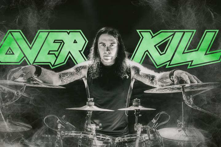 OVERKILL Announces New Drummer!
