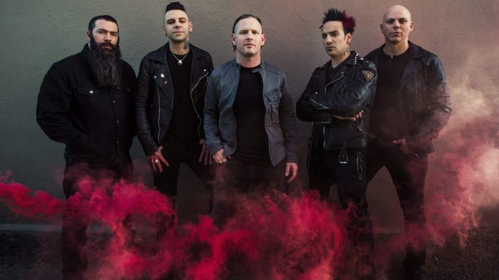 STONE SOUR unveil 'live-in-the-studio' video for 'Mercy'