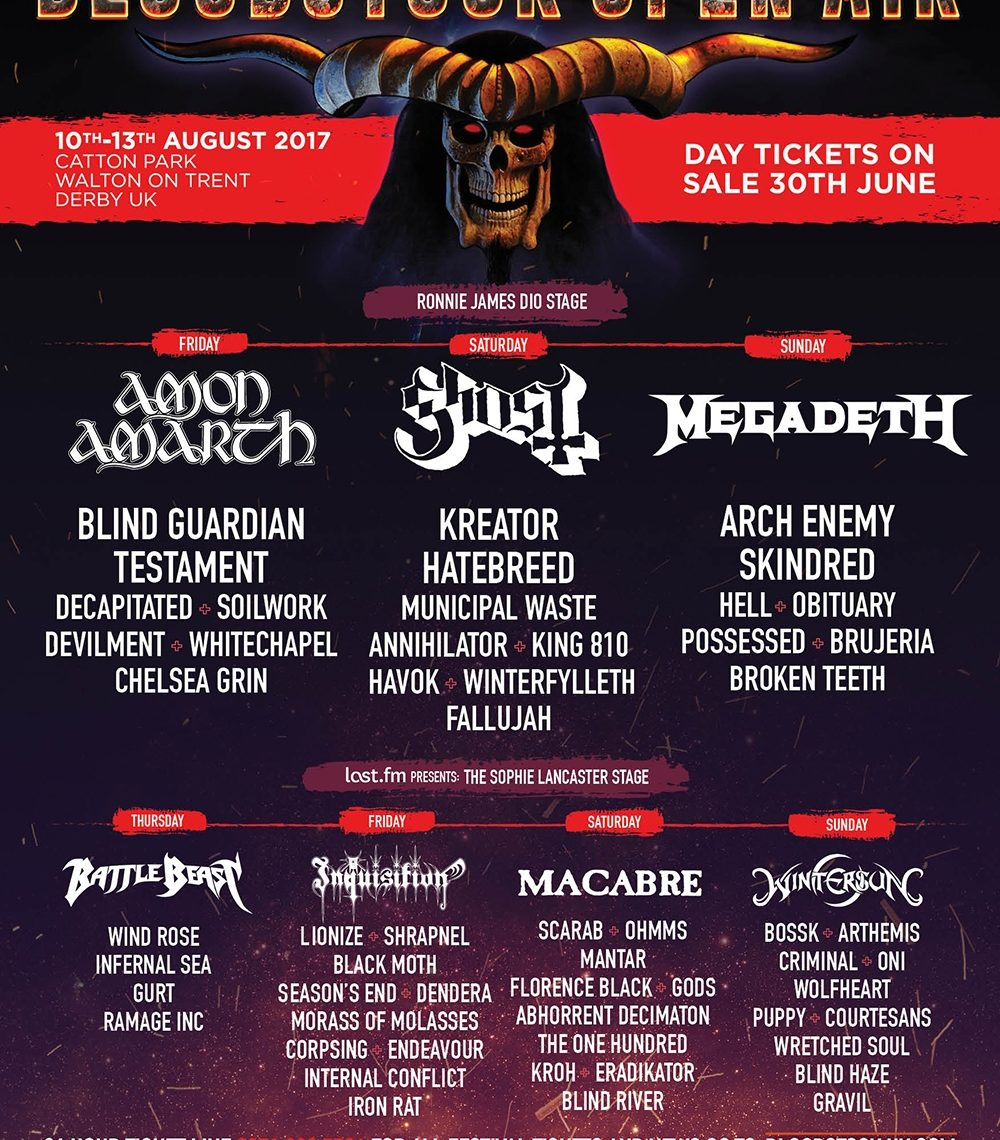 Just 51 days to BLOODSTOCK!