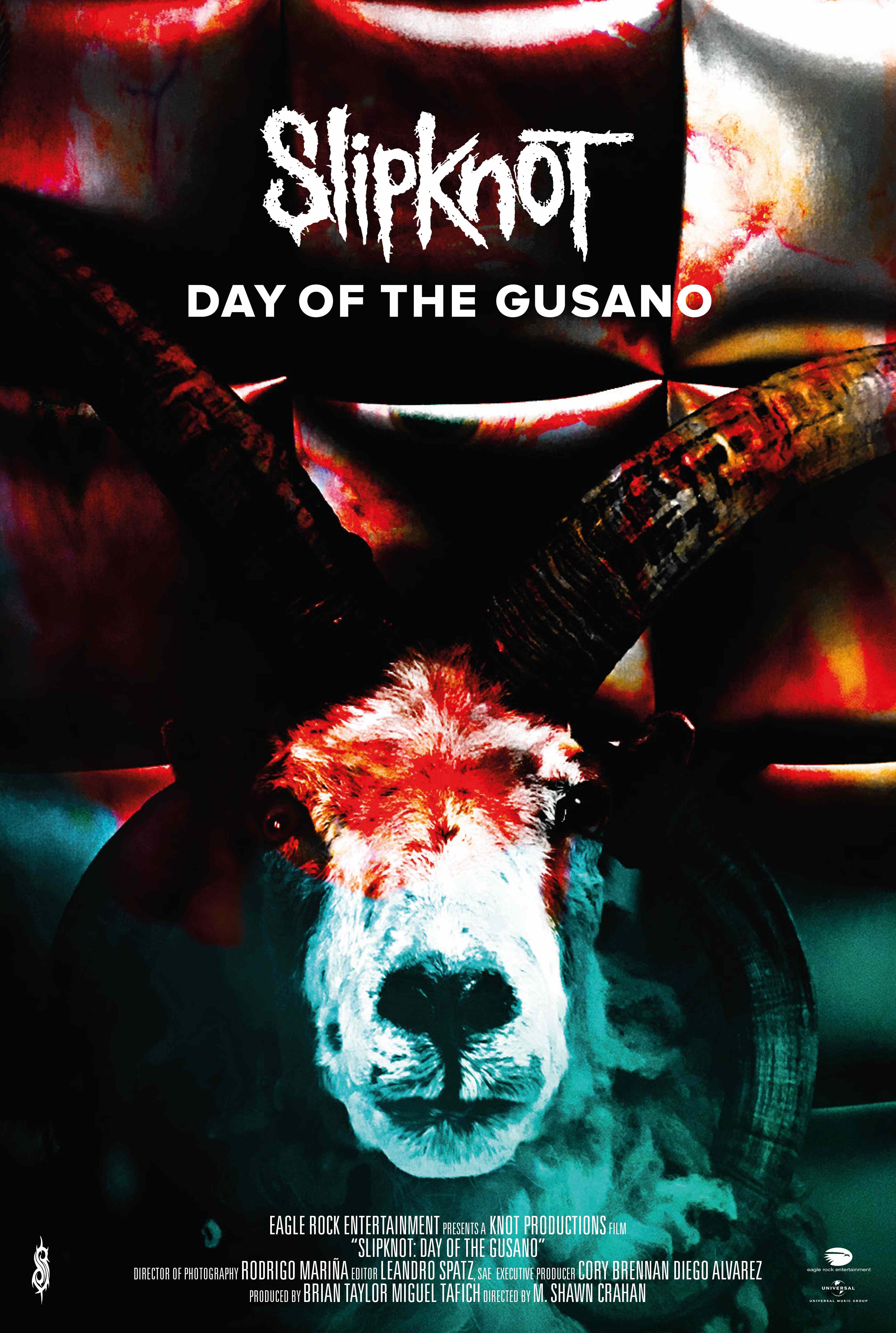 SLIPKNOT announce 'Day Of The Gusano' documentary cinema release