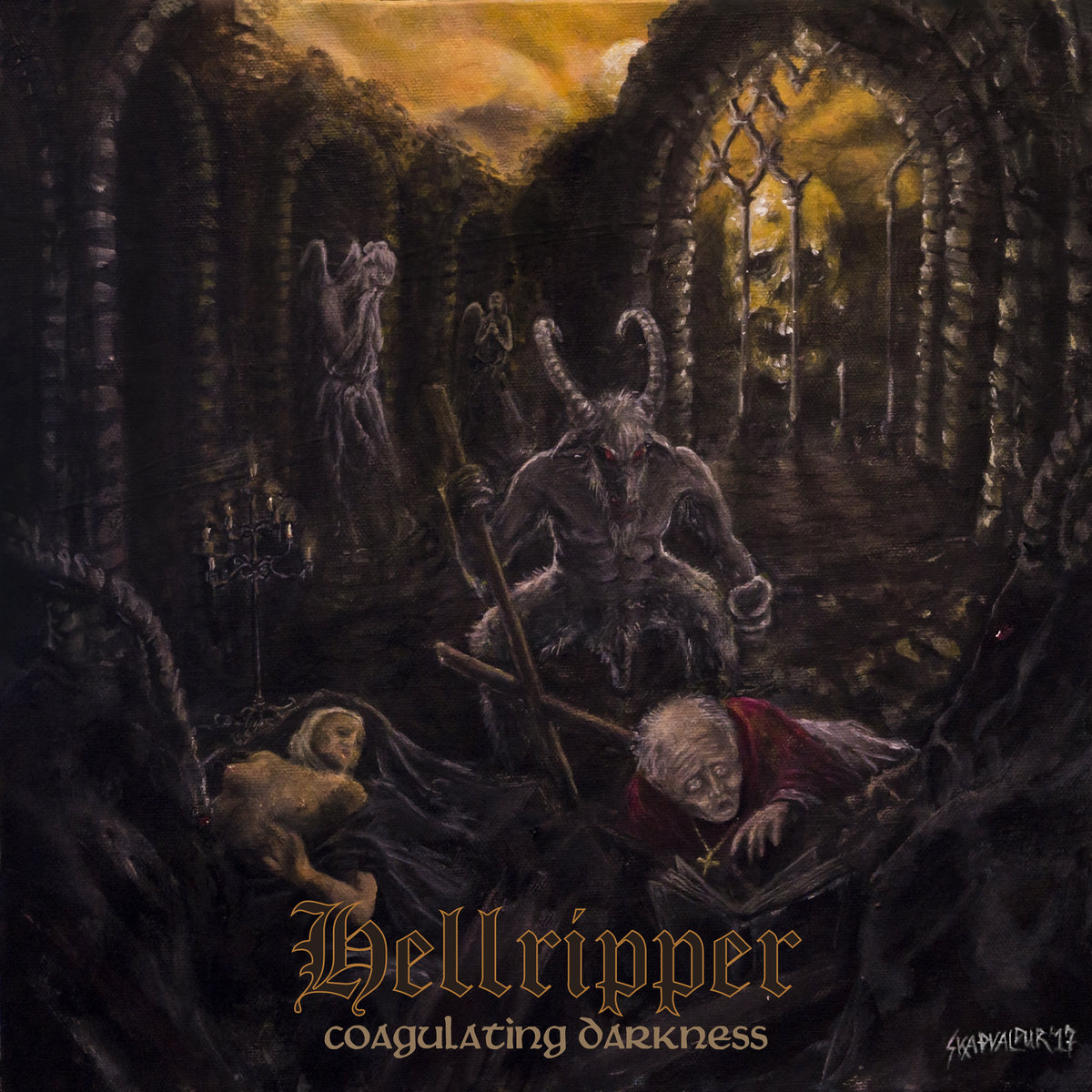 Hellripper – Coagulating Darkness