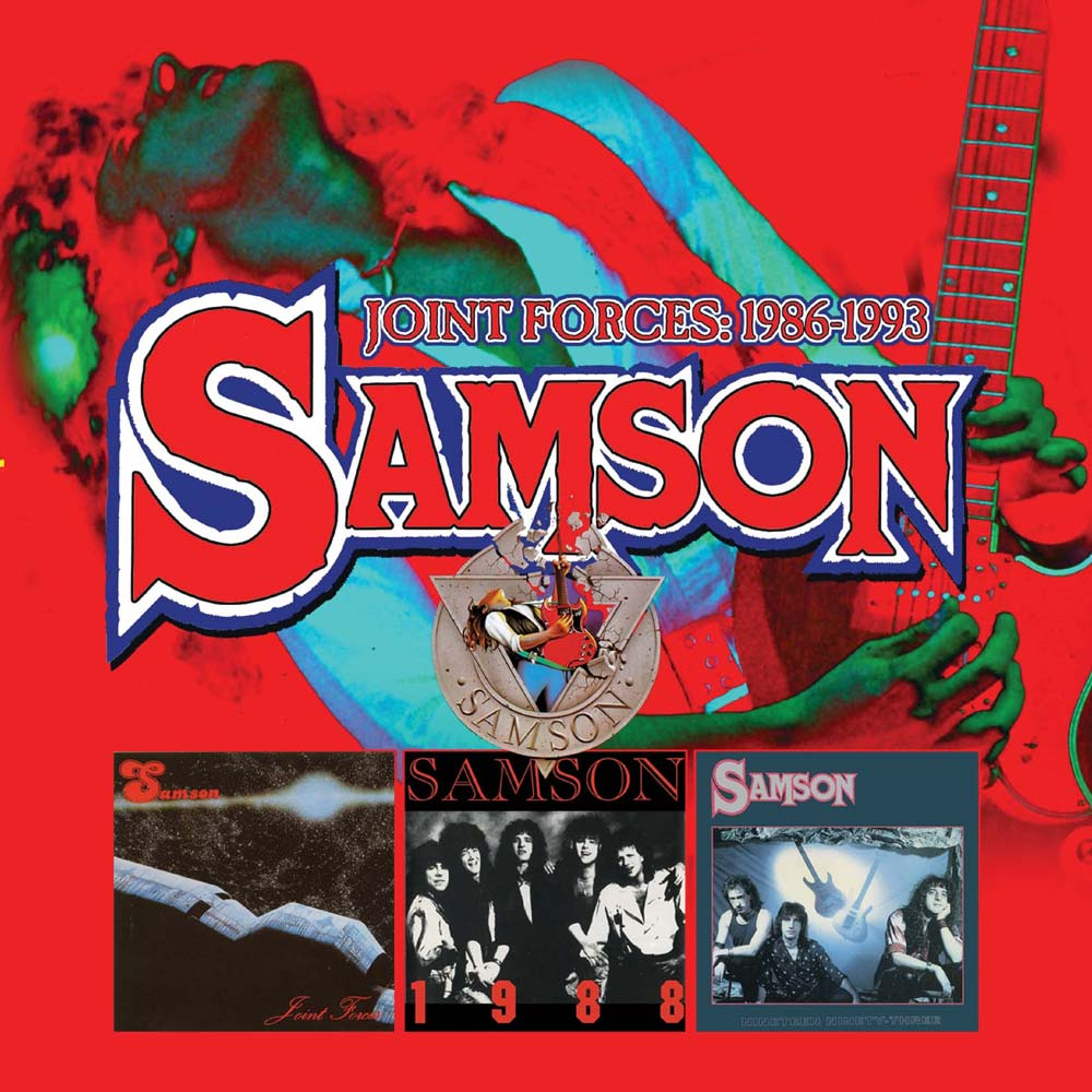 Samson – Joint Forces 1986-1993: 2CD Expanded Edition