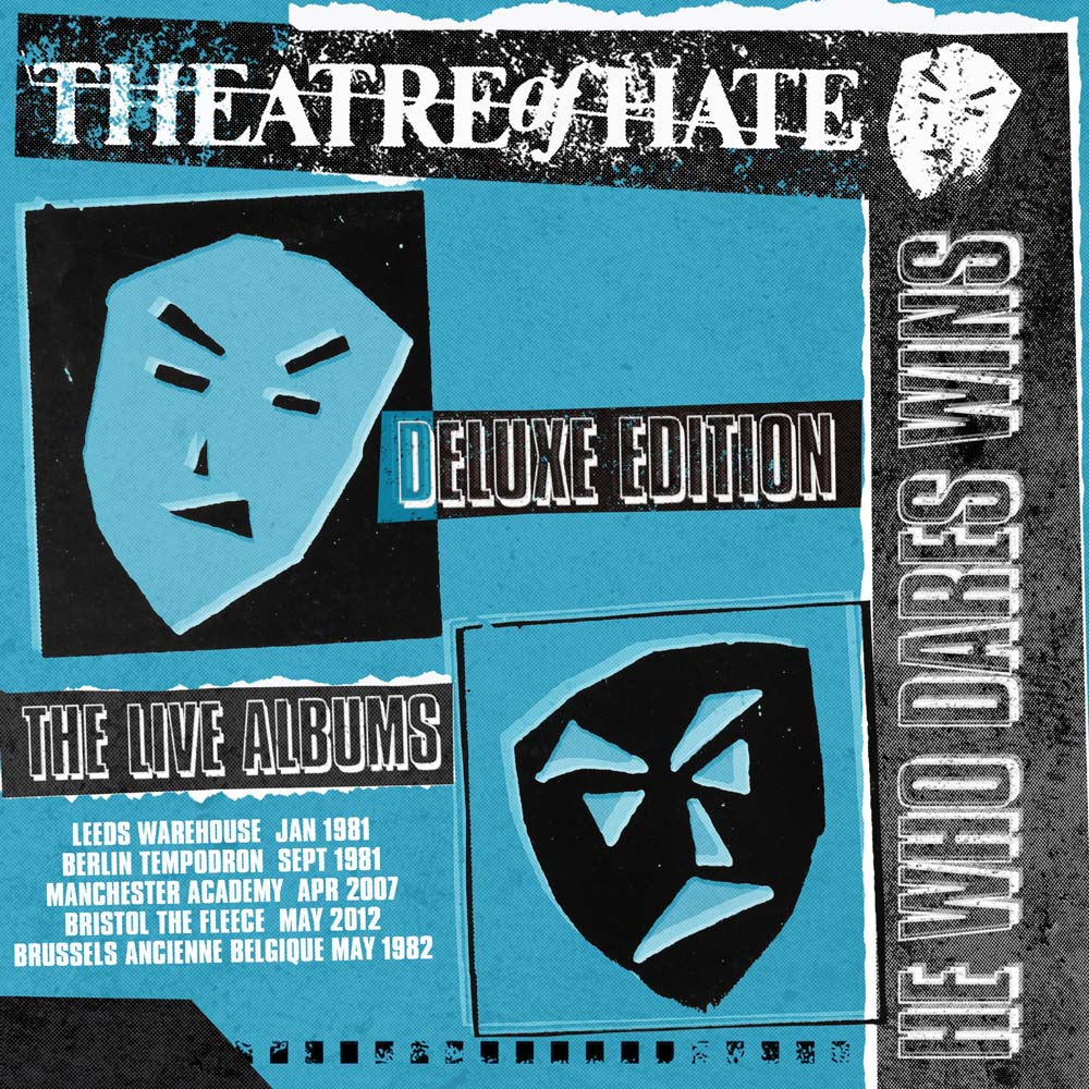 Theatre Of Hate – He Who Dares Wins: 5CD Deluxe Edition