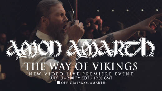 AMON AMARTH launch new video TODAY at 7pm