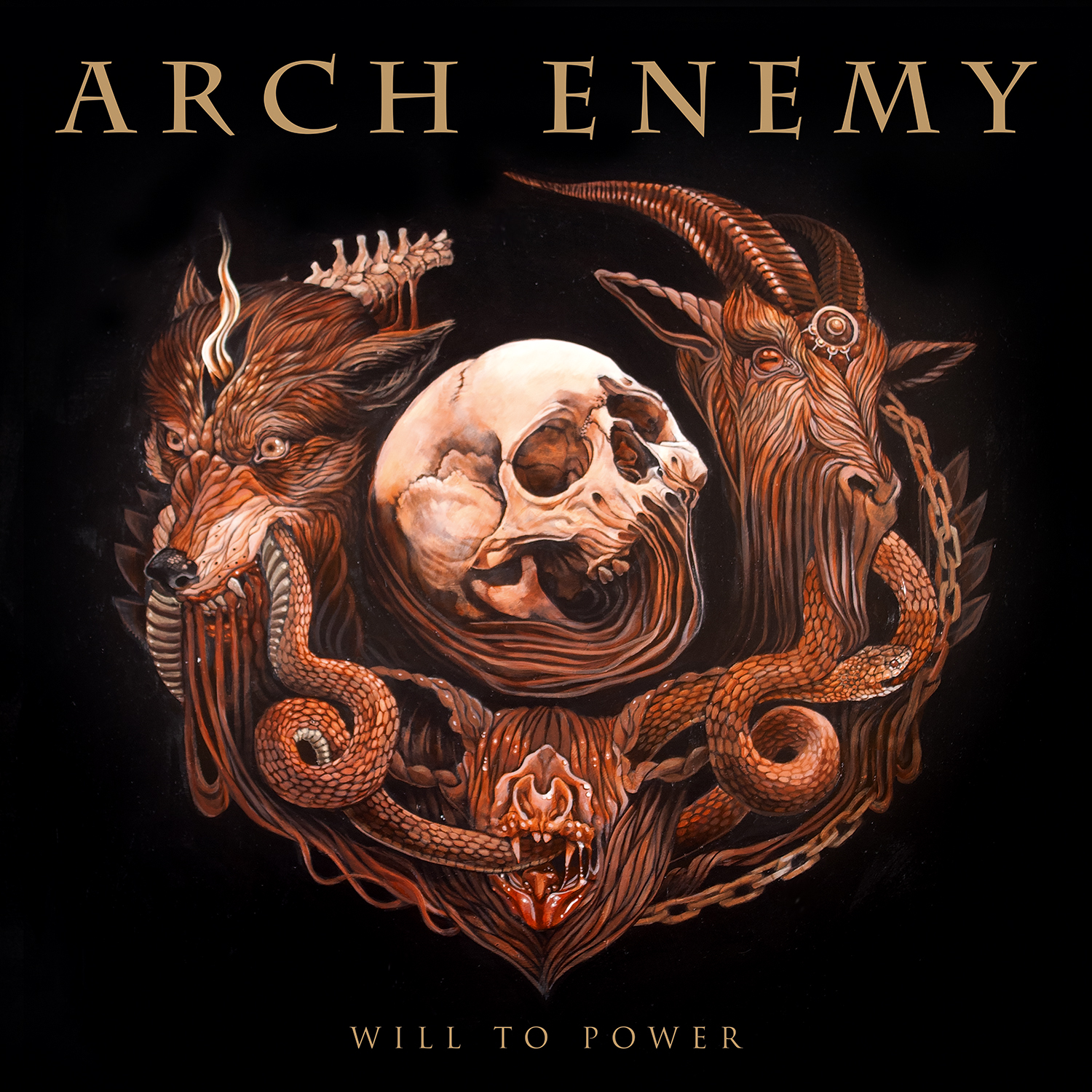 "ARCH ENEMY's ""Will To Power"" Enters Charts Worldwide!"