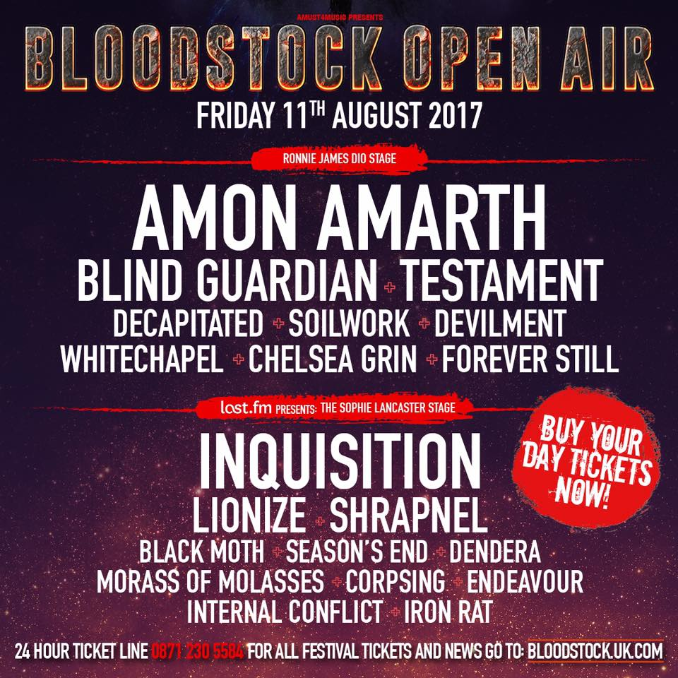 Bloodstock Festival 2017 Review – Friday