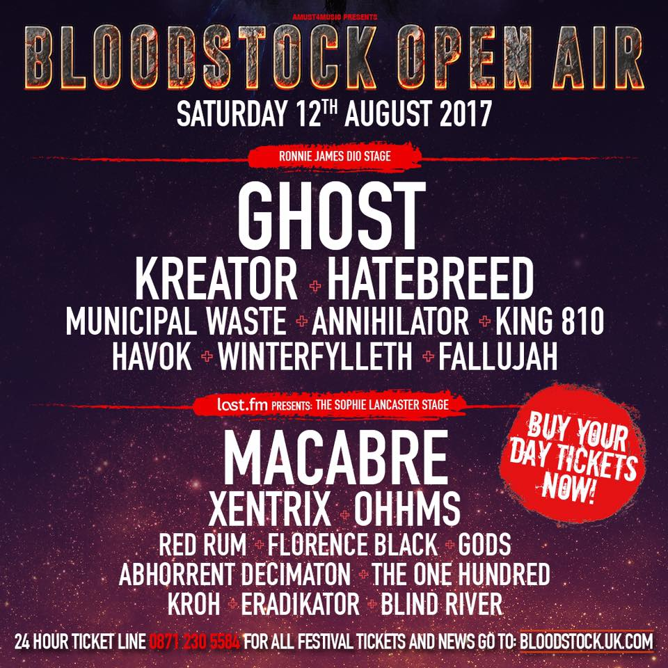 Bloodstock Festival 2017 Review – Saturday