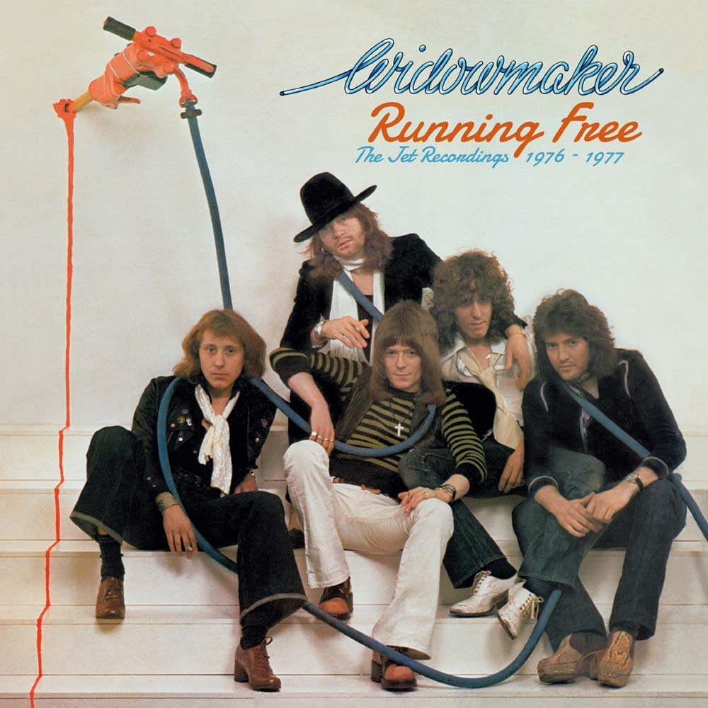 WIDOWMAKER – RUNNING FREE: THE JET RECORDINGS 1976-1977