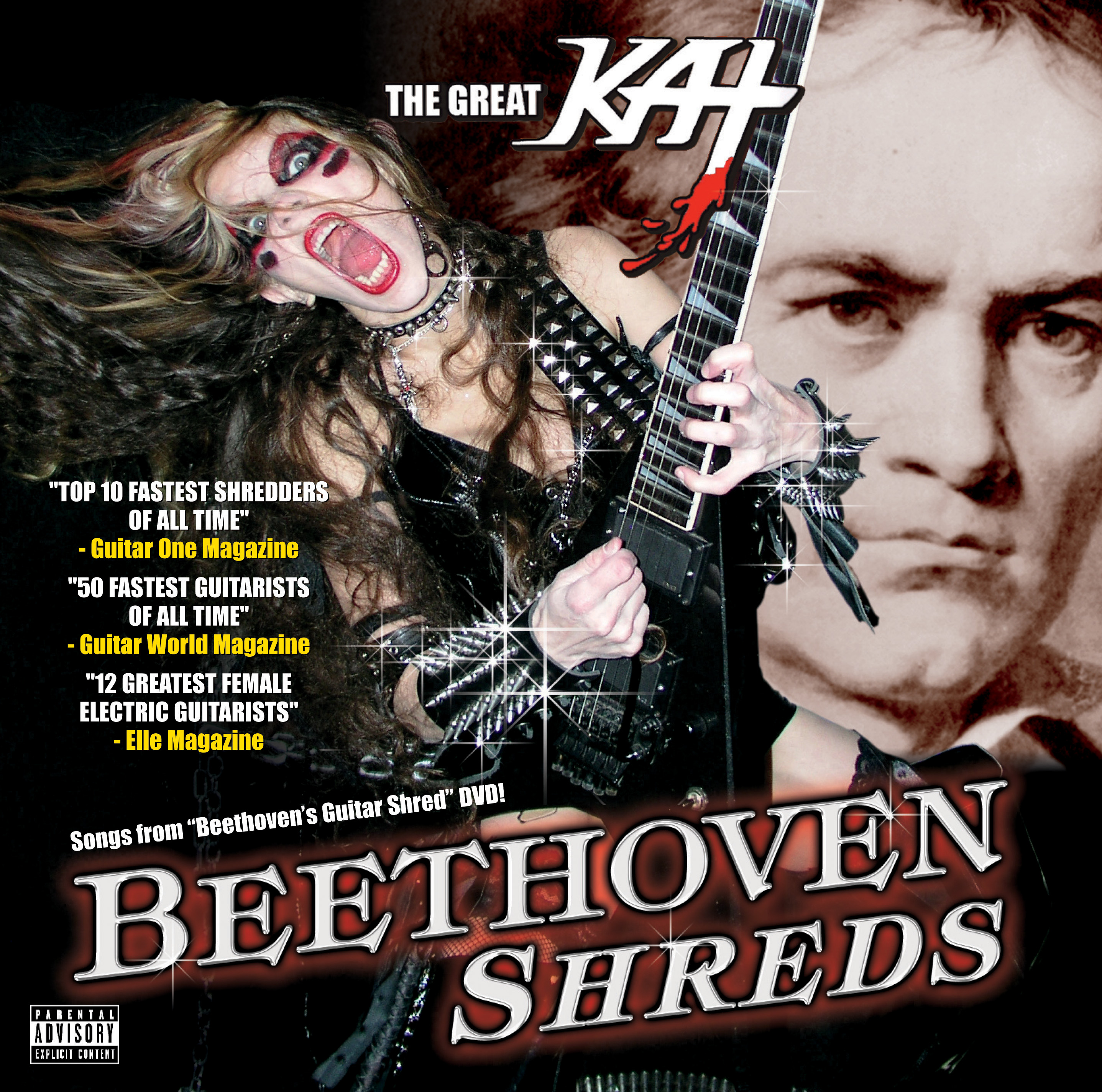 The Great Kat – Beethoven Shreds – 6 years on
