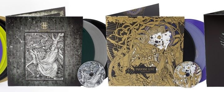 "PARADISE LOST to release vinyl reissues and ""Live At The Roundhouse"" in September"