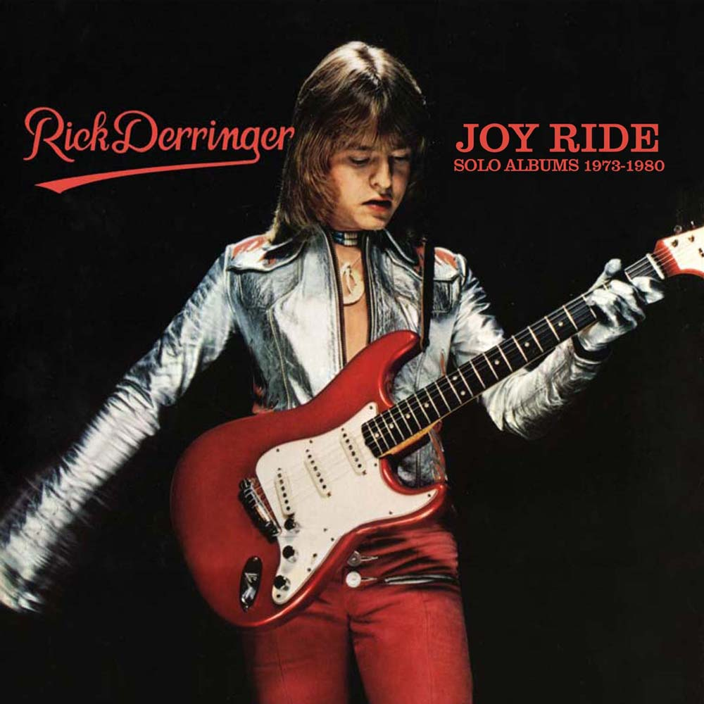 RICK DERRINGER: JOY RIDE – SOLO ALBUMS 1973-1980: 4CD BOX SET