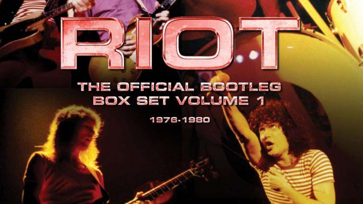 RIOT – THE OFFICIAL BOOTLEG BOX SET VOLUME 1 – 1976-1980: 6CD BOX SET