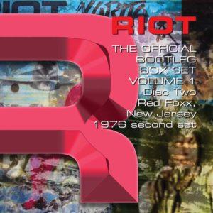 RIOT – THE OFFICIAL BOOTLEG BOX SET VOLUME 1 – 1976-1980: 6CD BOX