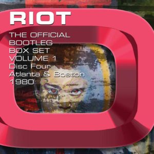 RIOT – THE OFFICIAL BOOTLEG BOX SET VOLUME 1 – 1976-1980: 6CD BOX