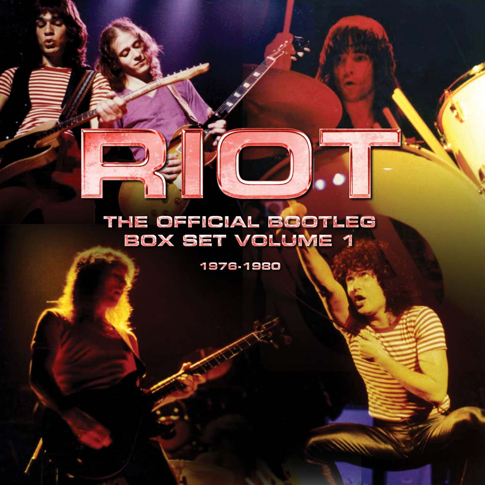 RIOT – THE OFFICIAL BOOTLEG BOX SET VOLUME 1 – 1976-1980: 6CD BOX SET