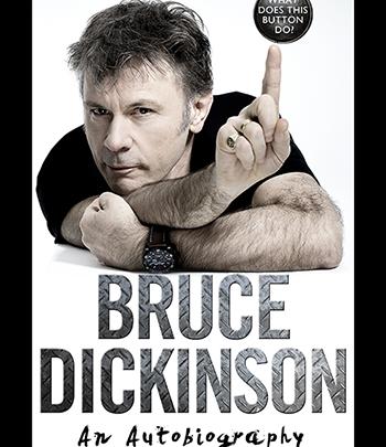 Bruce Dickinson Book Tour