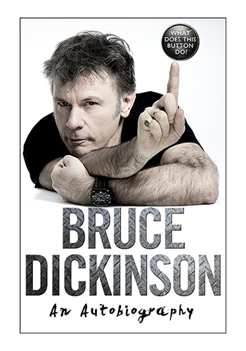 Bruce Dickinson Book Tour