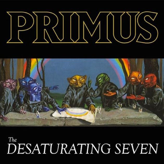 PRIMUS – THE DESATURATING SEVEN ALBUM REVIEW