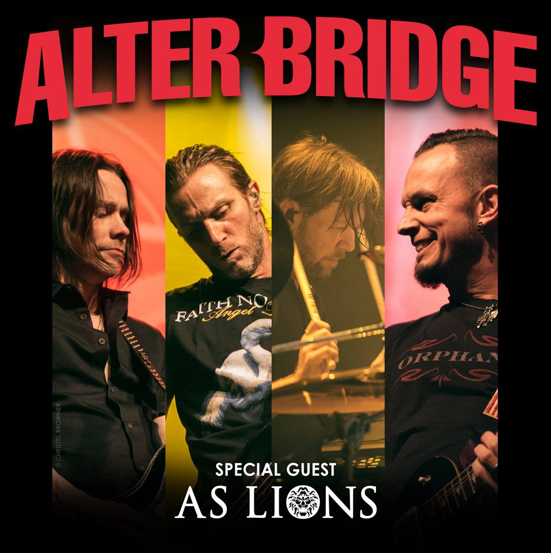 As Lions & Alter Bridge – Usher Hall – Edinburgh –  Oct 5th 2017