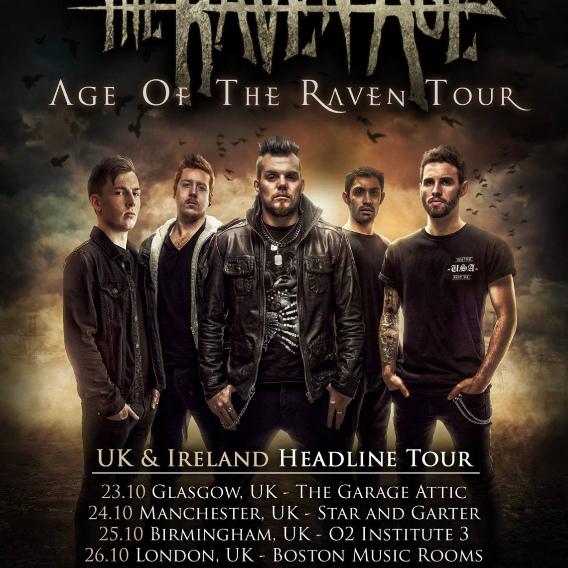 The Raven Age with In Search of Sun – Star and Garter, Manchester – 24th October 2017