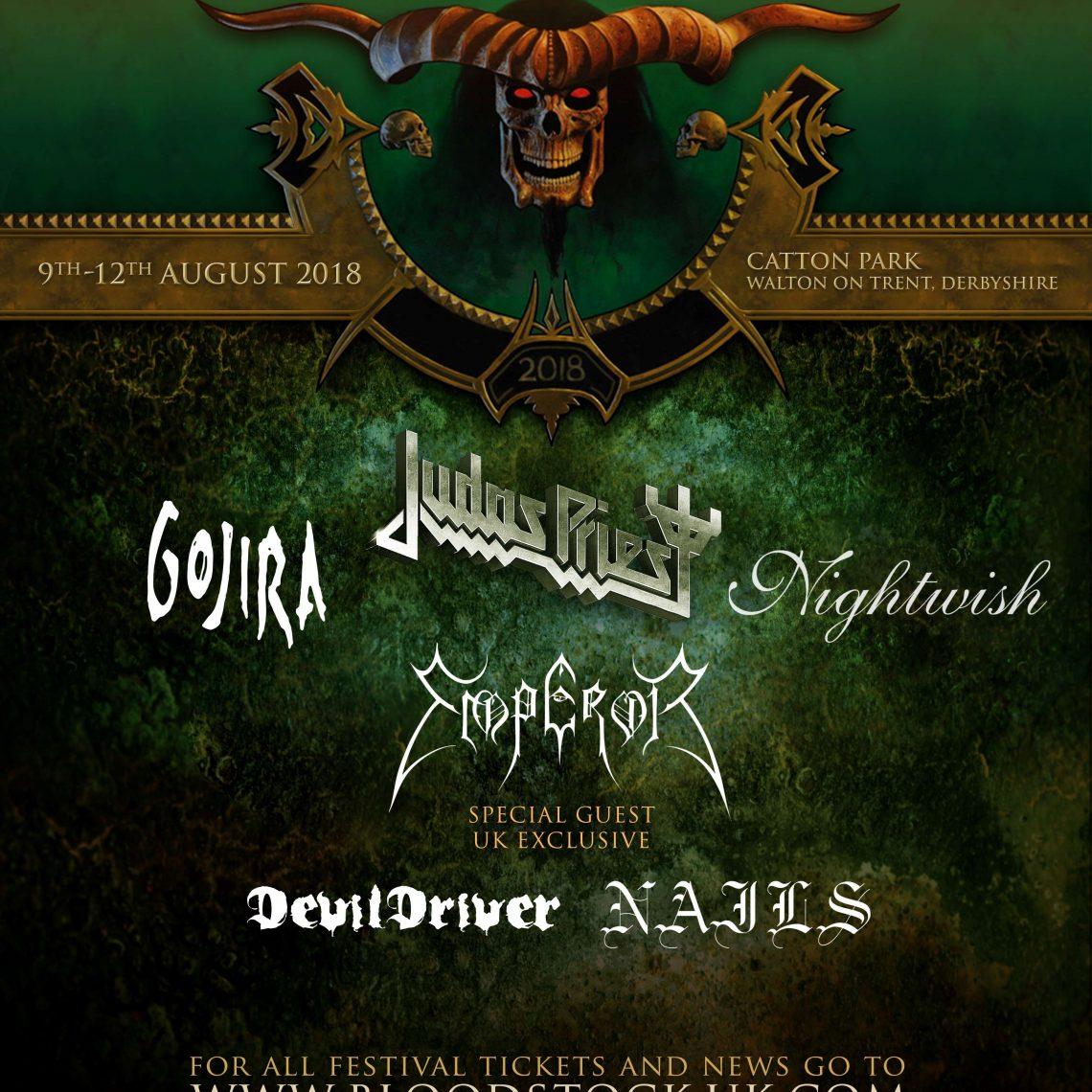 BLOODSTOCK announces 2018 Metal 2 The Masses programme!
