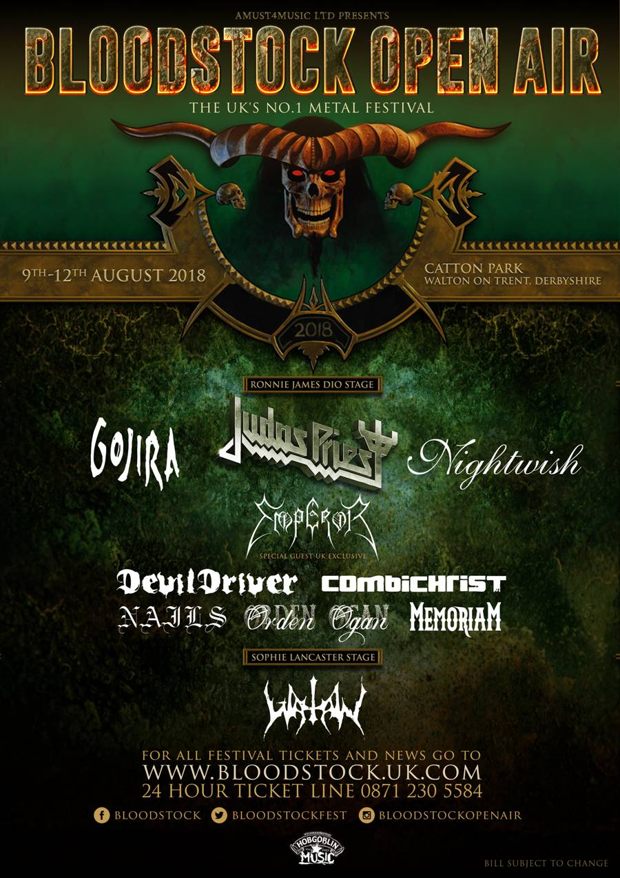 BLOODSTOCK add four more for Halloween!