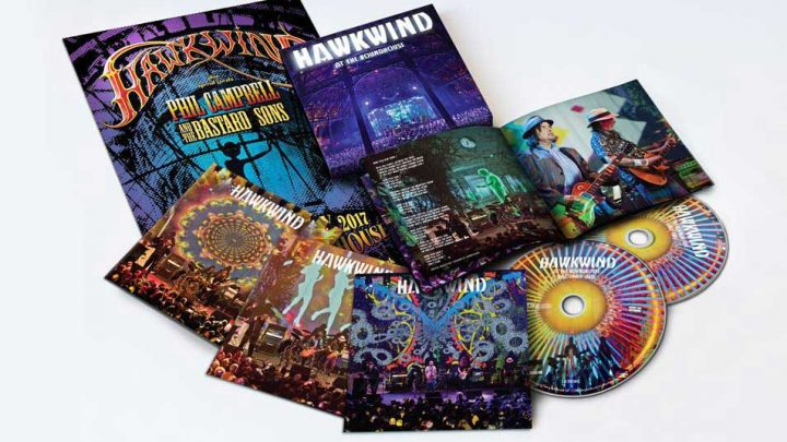HAWKWIND  At The Roundhouse  2CD/DVD