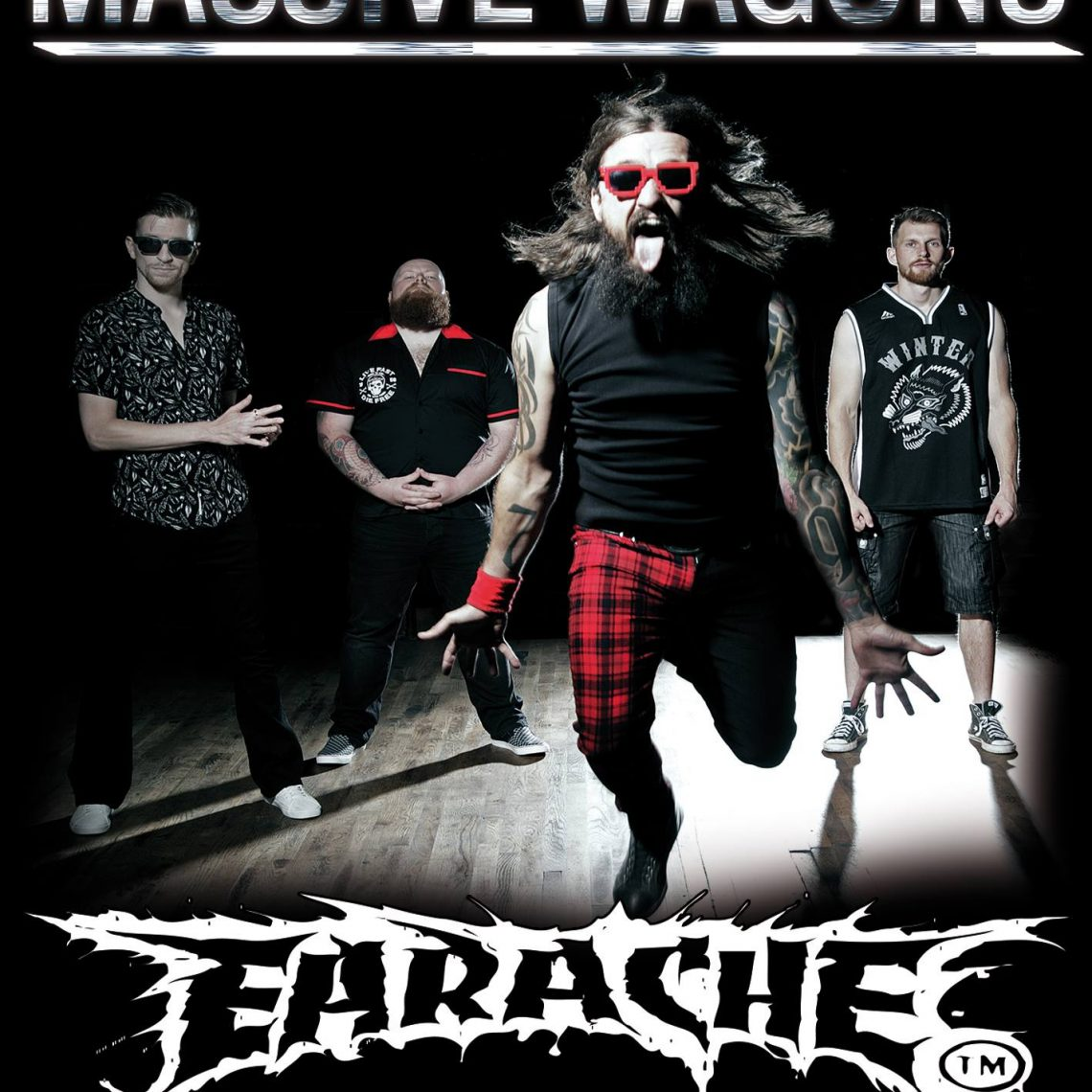 MASSIVE WAGONS: NEW BEHIND-THE-SCENES ROCKUMENTARY OUT NOW