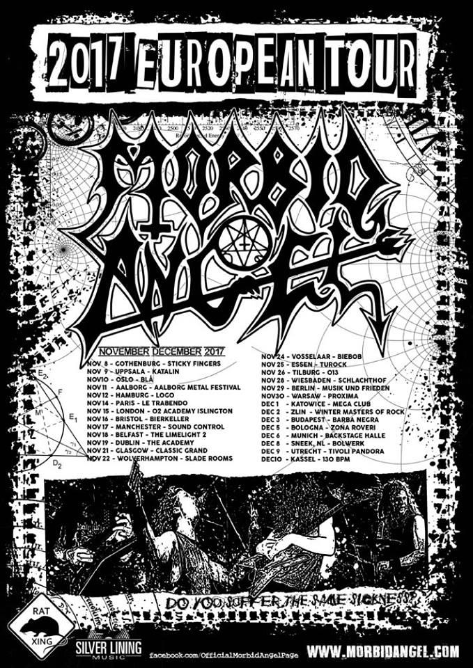 Morbid Angel - European Tour 2017