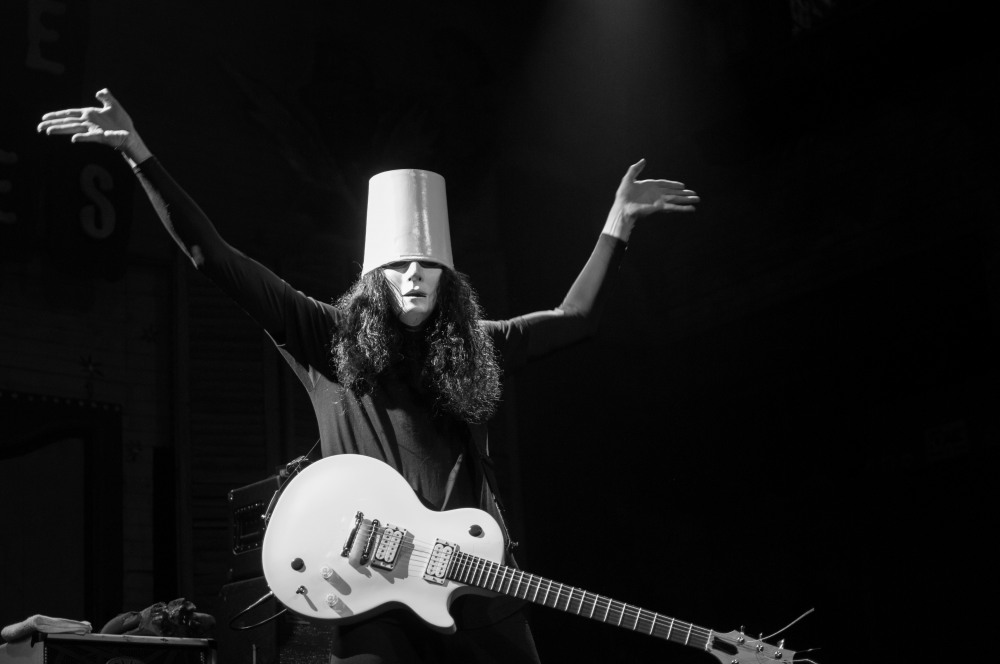 Ex-Guns N' Roses guitarist Buckethead reveals heart condition