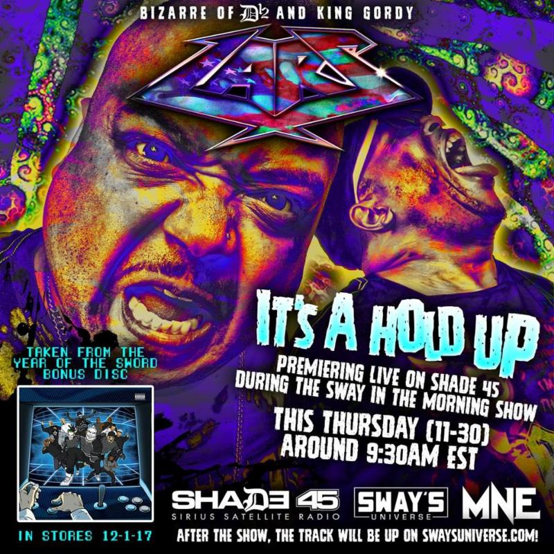 "LARS (Bizarre of D12 & King Gordy) to Premiere New Track Tomorrow via ""Sway in the Morning"" on Sirius XM's Shade 45"