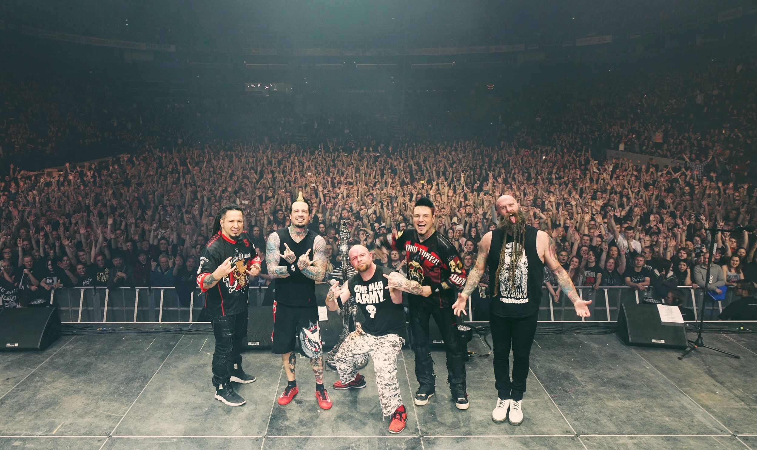 FIVE FINGER DEATH PUNCH kick off their biggest European tour to date!