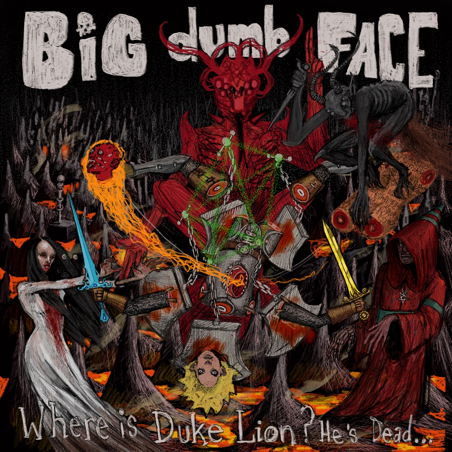 "Big Dumb Face – ""Where Is Duke Lion? He's Dead…"""
