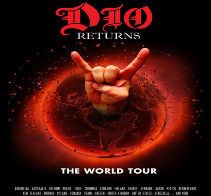 """""""DIO Returns: The Tour"""" featuring a hologram of Ronnie James Dio – UK/European Tour In December 2017"""