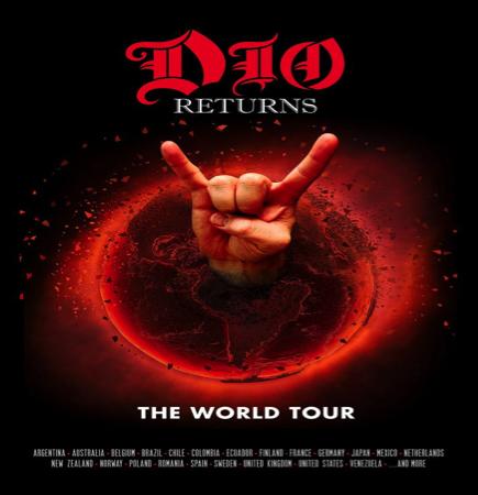RONNIE JAMES DIO HOLOGRAM TOUR 'DIO Returns: The Tour'