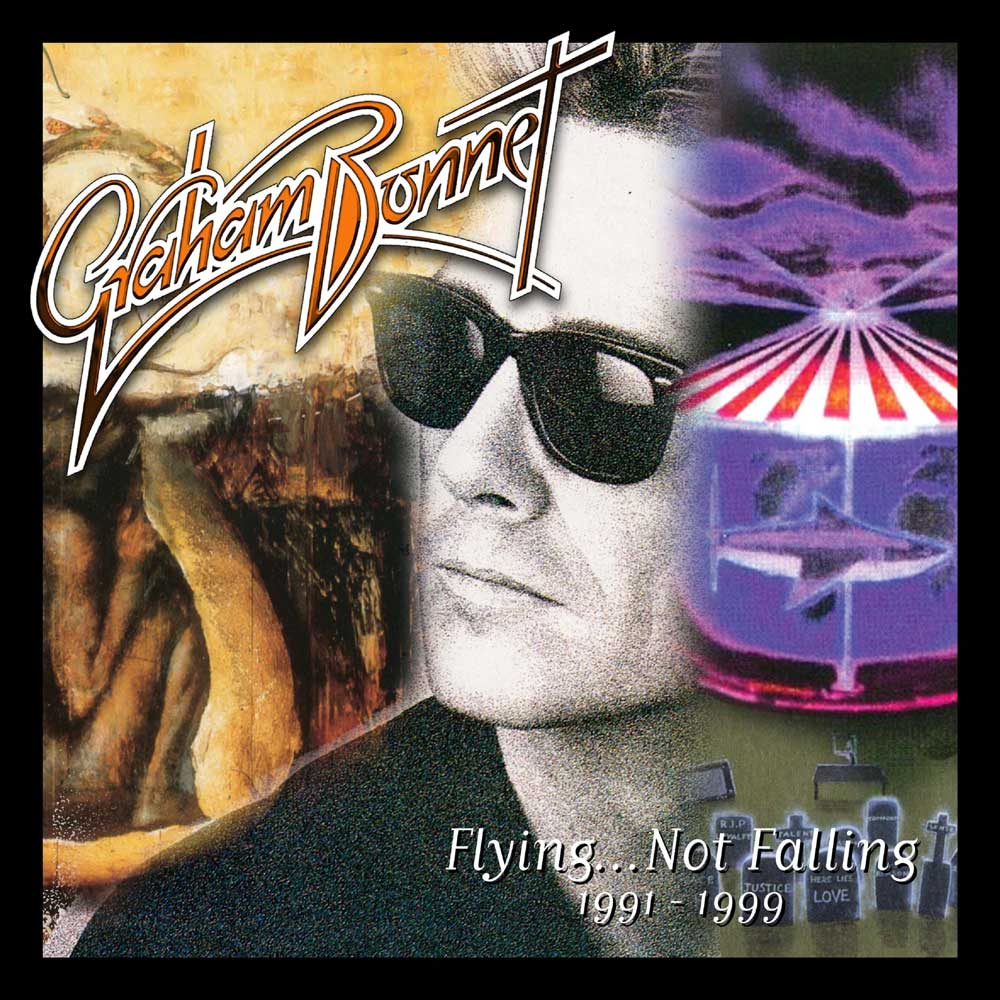 GRAHAM BONNET – FLYING NOT FALLING 1991-1999: 3CD REMASTERED BOX SET EDITION