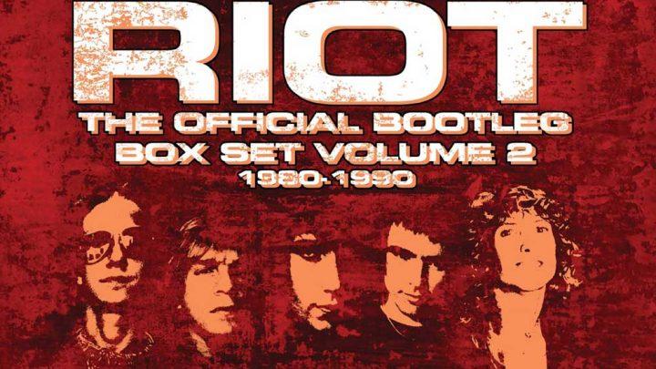 RIOT – THE OFFICIAL BOOTLEG BOX SET VOLUME 2 – 1980-1990: 7CD BOX SET