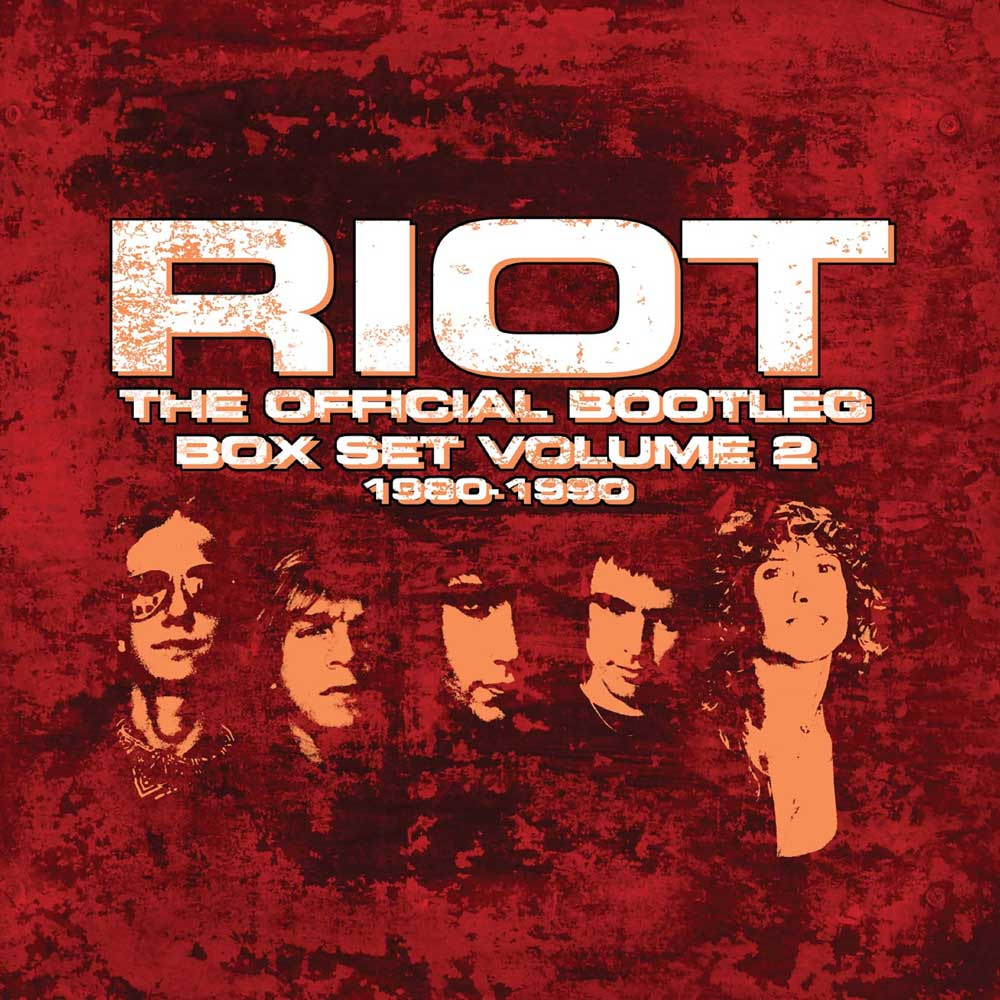 RIOT – THE OFFICIAL BOOTLEG BOX SET VOLUME 2 – 1980-1990: 7CD BOX SET