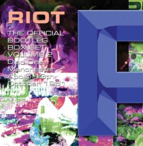 RIOT – THE OFFICIAL BOOTLEG BOX SET VOLUME 2 – 1980-1990: 7CD BOX