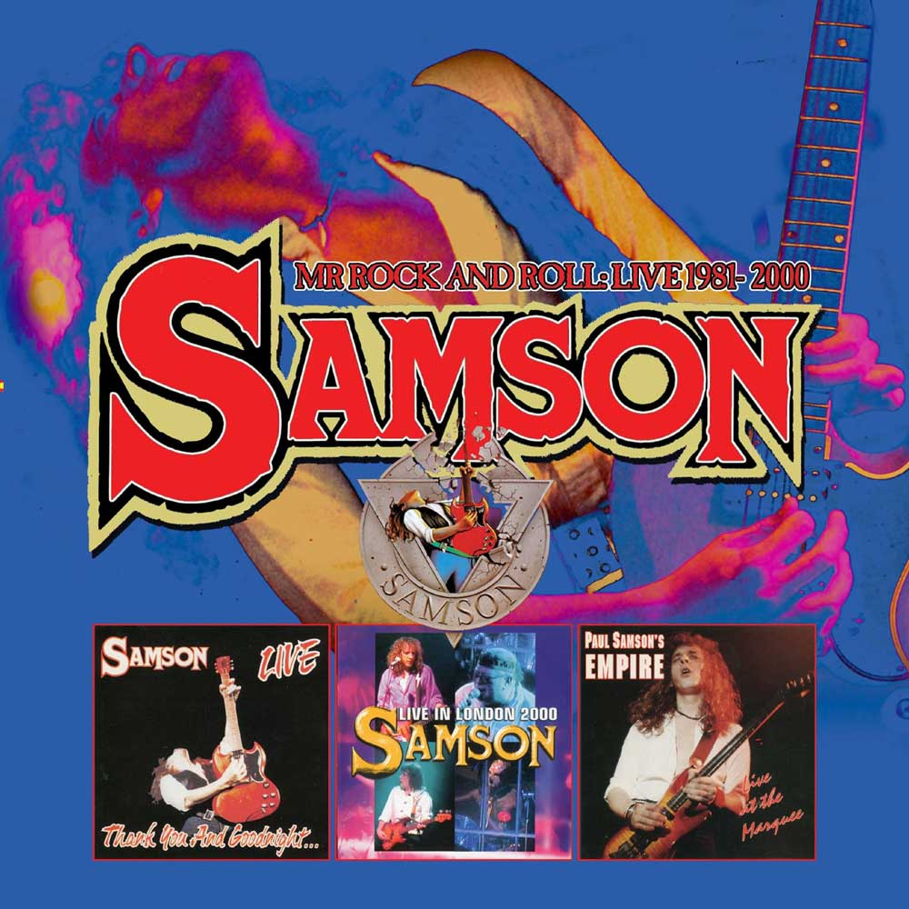 SAMSON – MR ROCK AND ROLL: LIVE 1981-2000