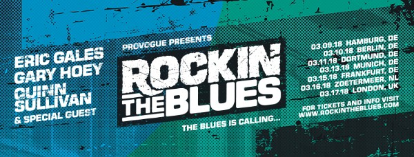 Rockin' The Blues Tour + Album (ft. Eric Gales, Gary Hoey & Quinn Sullivan)