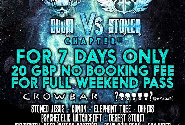 Crowbar, Stoned Jesus & Conan catapult HRH Doom vs HRH Stoner's 3rd Cycle